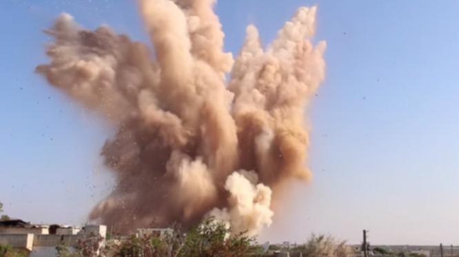 Không quân Nga không kích trên chiến trường tỉnh Hama