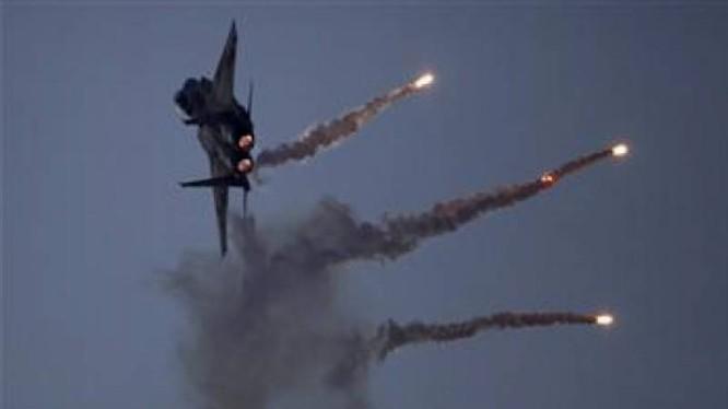 Không quân Nga không kích trên chiến trường Aleppo