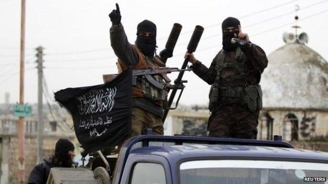 Chiến binh Hồi giáo cực đoan ở Idlib