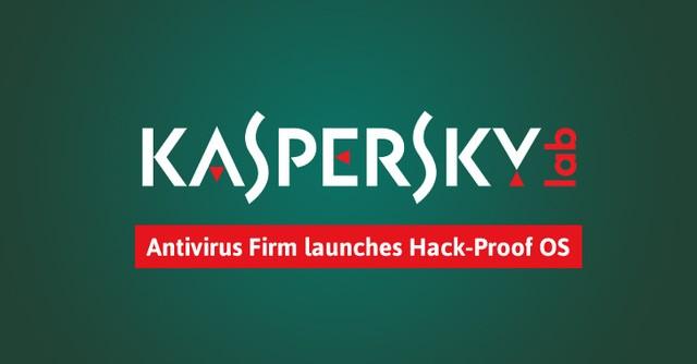 Hệ điều hành siêu bảo mật Kaspersky OS