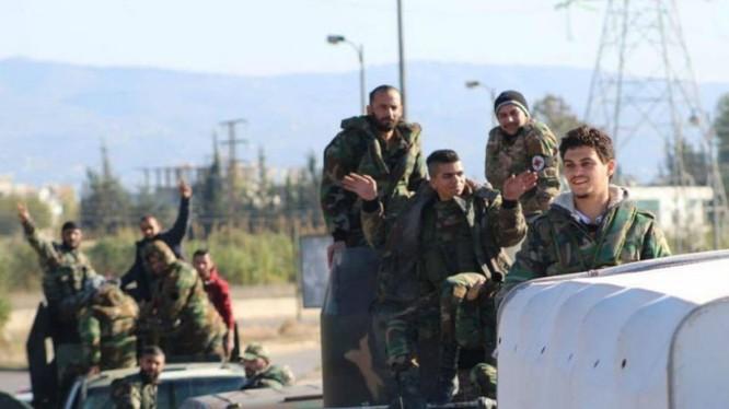 Lực lượng Đảng xã hội Dân chủ Syria đến Aleppo