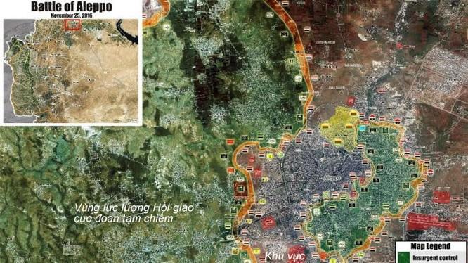 Tình hình chiến sự thành phố Aleppo