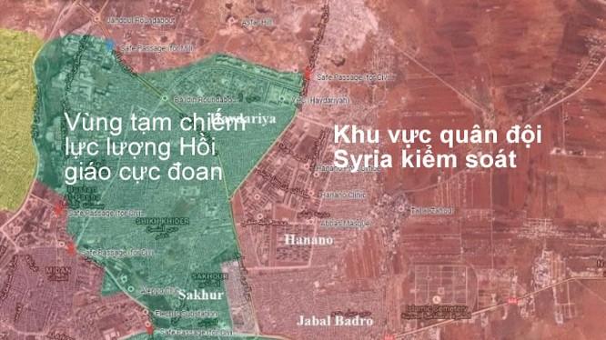 Quân đội Syria và các lực lượng đồng minh đã giành được hoàn toàn quận Jabal-Badro