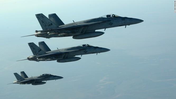 Lực lượng không quân Liên minh chóng khủng bố do Mỹ dẫn đầu ở Syria