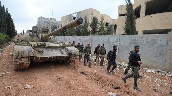 Quân đội Syria trên chiến trường Aleppo