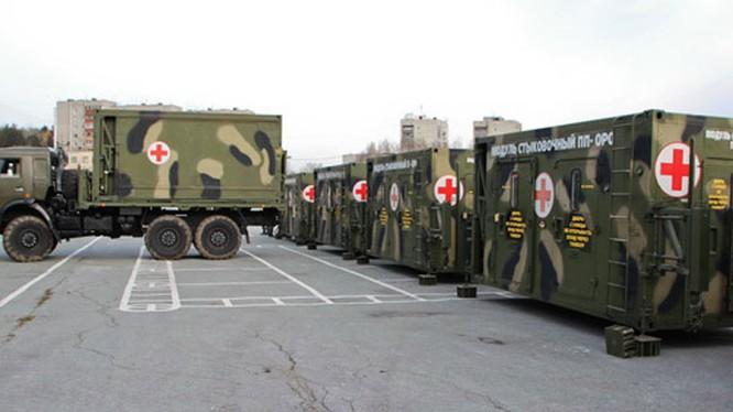 Bệnh viện quân y tiền phường của Nga