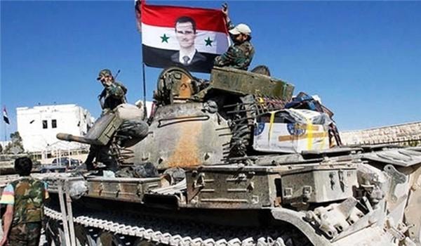 Quân đội Syria trên chiến trường Daraa (ảnh minh họa)