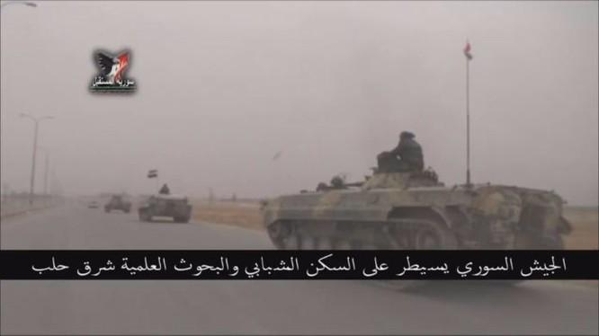 Lực lượng Tiger dồn dập tấn công ở Aleppo