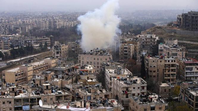Lực lượng Hồi giáo cực đoan pháo kích khu dân cư miền Tây Aleppo