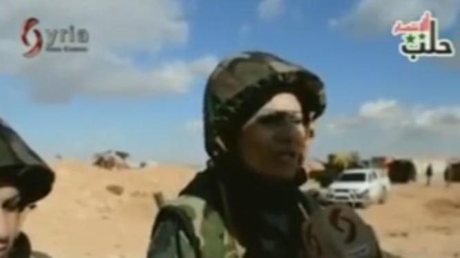 Tiểu đoàn pháo binh - bắn tỉa nữ của quân đội Syria ở Hama
