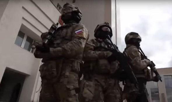 Đặc nhiệm Bộ quốc phòng Nga trên chiến trường Syria