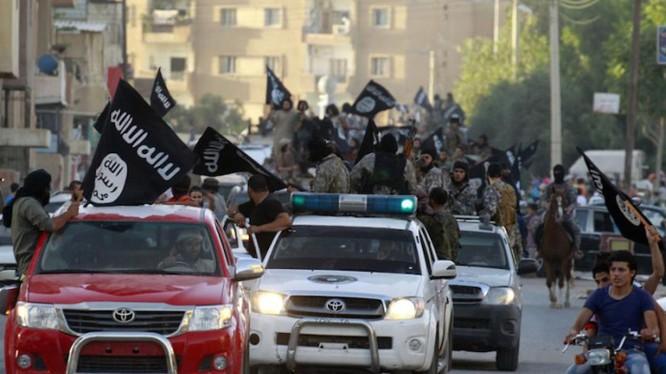 Lực lượng khủng bố IS (ảnh minh họa)