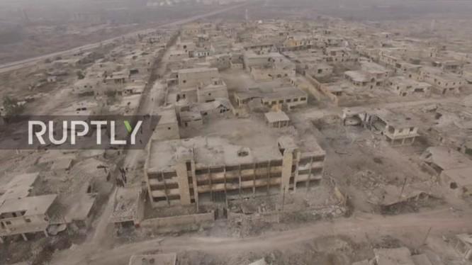 Toàn cảnh quận Sheikh Saeed thành phố Aleppo giải phóng ngày 12.12.2016