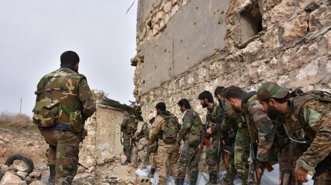 Binh sĩ quân đội Syria chuẩn bị tấn công (ảnh minh họa)