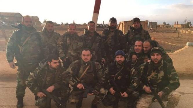 Lực lượng đổ bộ đường không quân đội Syria
