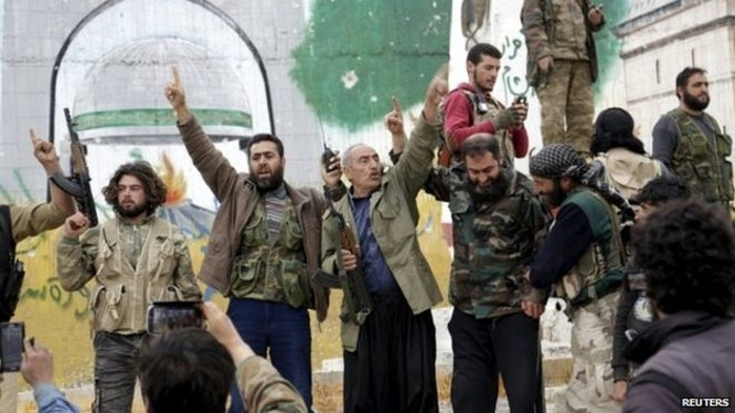 Lực lượng chiến binh thánh chiến ở Idlib