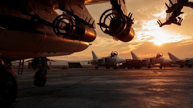 Không quân Nga trên sân bay quân sự Hmeimim, Latakia