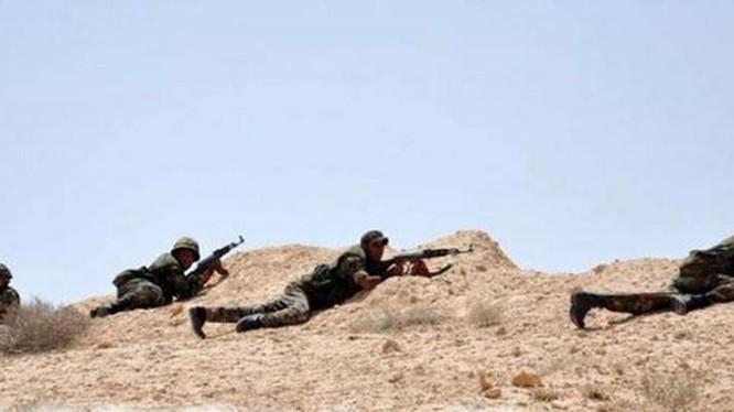 Binh sĩ Syria trên chiến trường Deir ez Zor (ảnh minh họa)