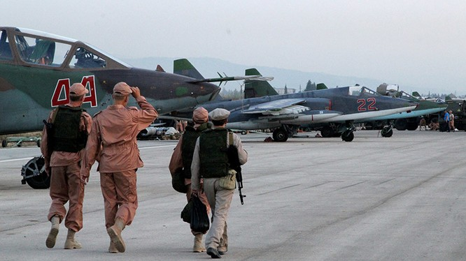 Căn cứ sân bay quân sự Hmeymin thuộc tỉnh Latakia