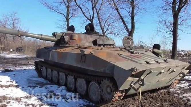 Xe thiết giáp Ukraine trên chiến trường