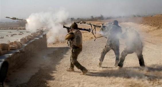 Binh sĩ quân đội Iraq tấn công thành phố Mosul