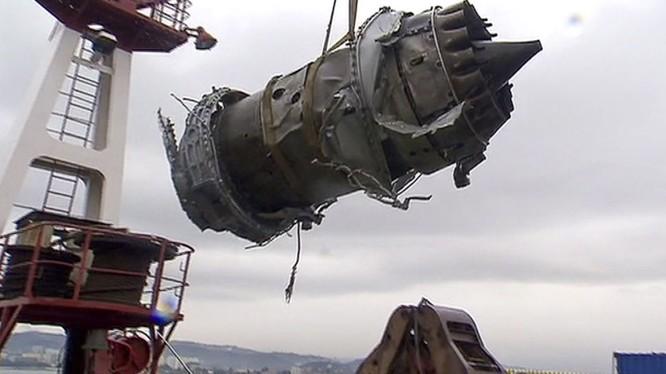Tất cả các mảnh vỡ của chiếc Tu-154 Bộ quốc phòng Nga đã được trục vớt