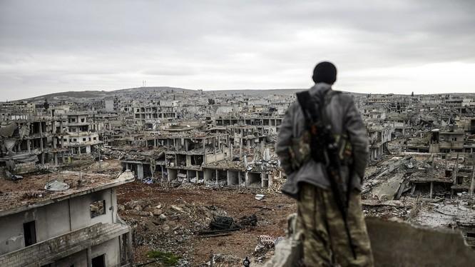 Cảnh tượng tan hoang kinh hoàng của Aleppo sau cuộc chiến