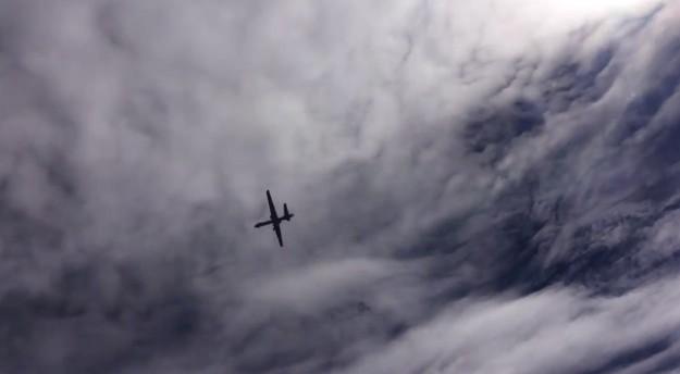 Một chiếc Predator của Mỹ đang bay trên không phận Syria