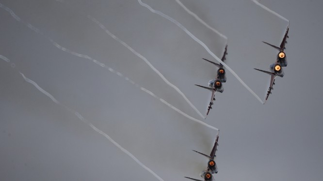 Không quân Nga không kích trên chiến trường Syria (ảnh minh họa)