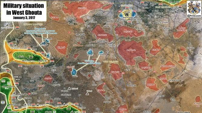 Các ngôi làng chấp nhận hạ vũ khí đầu hàng trên cao nguyên Golan