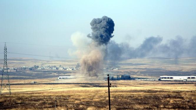Một vụ tấn công bằng bom vệ đường ở Syria (ảnh minh họa)