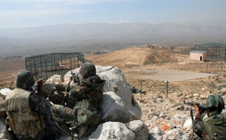 Lực lượng Hezbollah trên chiến trường vùng biên giới Lebanon