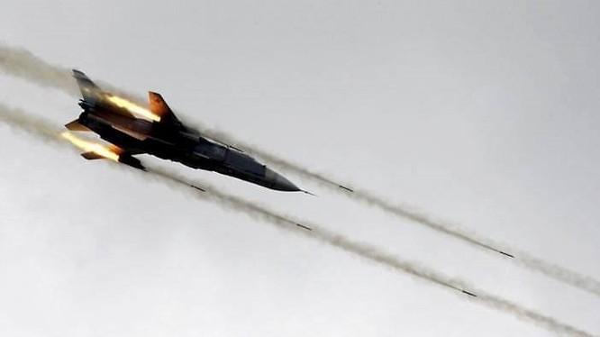 Không quân Syria không kích (ảnh minh họa)