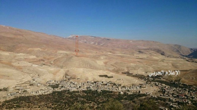 Toàn cảnh khu vựcWadi Barada, nơi diễn ra cuộc khủng hoảng nguồn nước ở Damascus