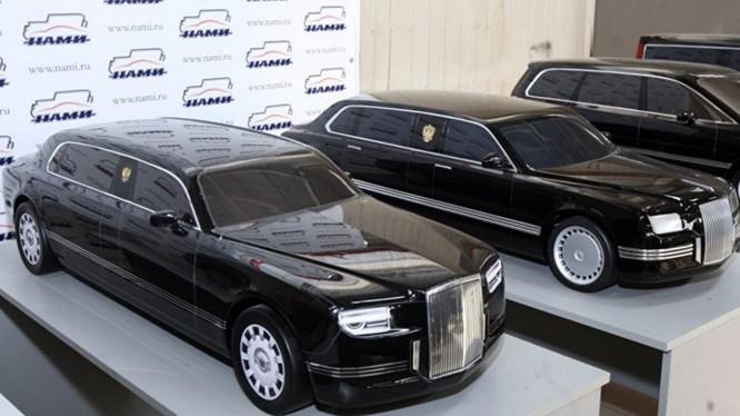 Dòng xe cao cấp Koztej dành cho các quan chức hàng đầu bộ ngành của Nga