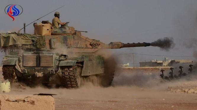 Xe tăng Thổ Nhĩ Kỳ trên chiến trường Syria