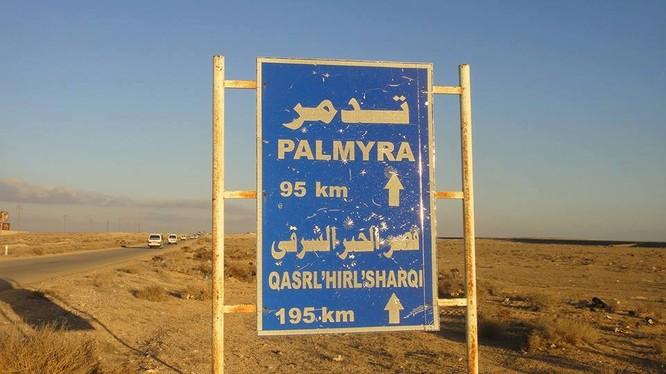 Hướng chiến trường Palmyra (ảnh minh họa)