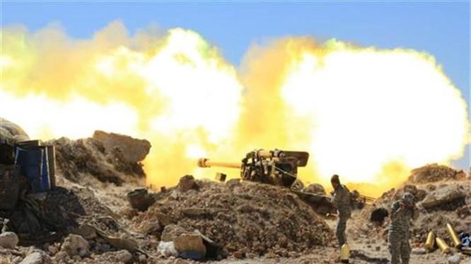 Quân đội Syria pháo kích dữ dội trên vùng ngoại ô phía Nam Aleppo