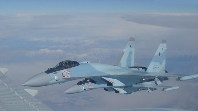 Máy bay Su-35 Nga ở Syria