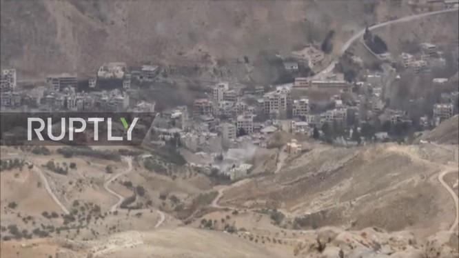 Thị trấn Al-Fijah, thuộc vùng ngoại ô Damascus