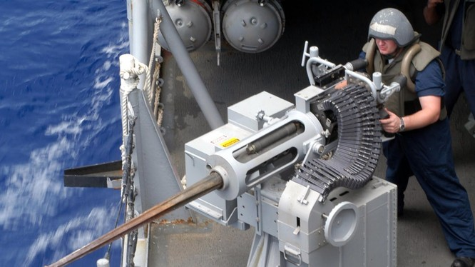 Pháo tự động M38 25 mm trên tàu khu trục Mỹ
