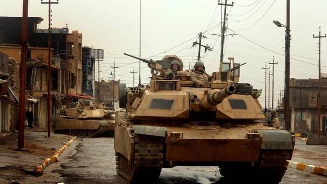 Xe tăng Abrams M1 của quân đội Mỹ