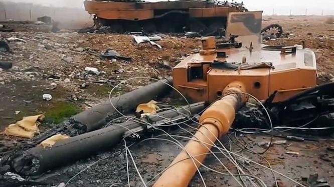 Xe tăng Leopard-2A4 của Thổ Nhĩ Kỳ ở Syria