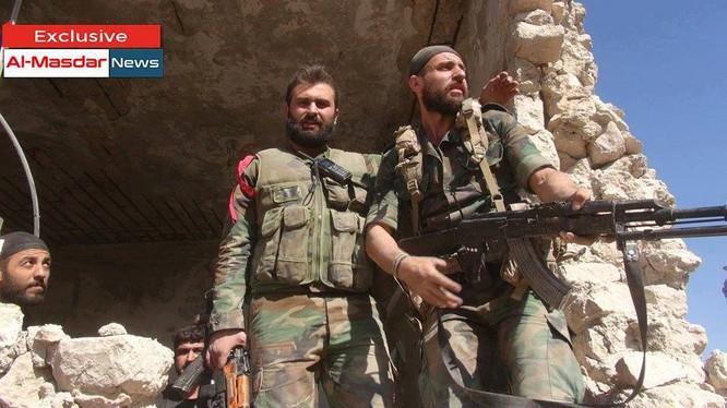 Lực lượng Vệ binh Cộng hòa trên chiến trường Aleppo