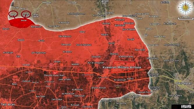Lực lượng Tigers tấn công giải phóng làng Soran