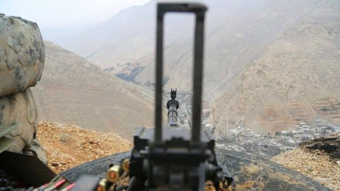 Khu vực Wadi Barada trong tầm hỏa lực của quân đội Syria