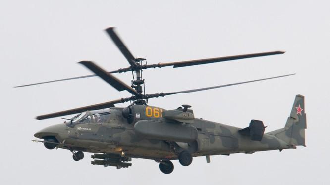 Trực thăng tấn công Ka-52, tham gia các hoạt động quân sự trên chiến trường Palmyra