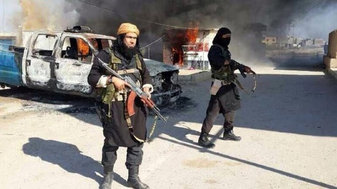 Những tay súng khủng bố IS (ảnh minh họa)