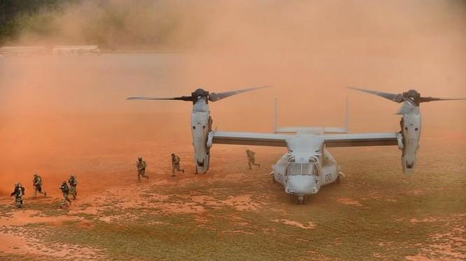 """Trực thăng vận tải """"tiltrotor"""""""
