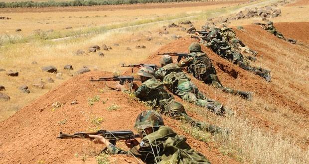 Binh sĩ Syria trong một trận đánh phục kích (ảnh minh họa)
